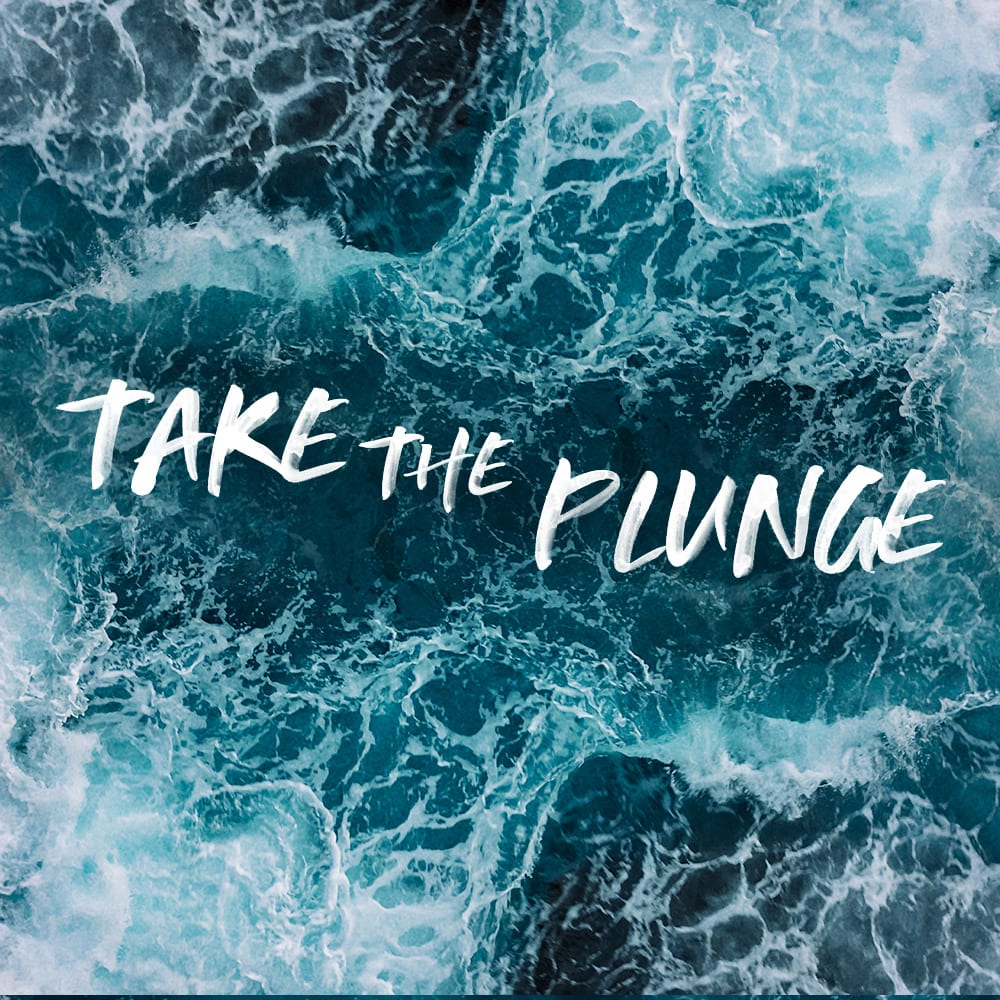 Take the Plunge Sermon Series Artwork