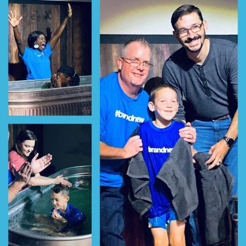Baptism at Katy Church Parkway Fellowship