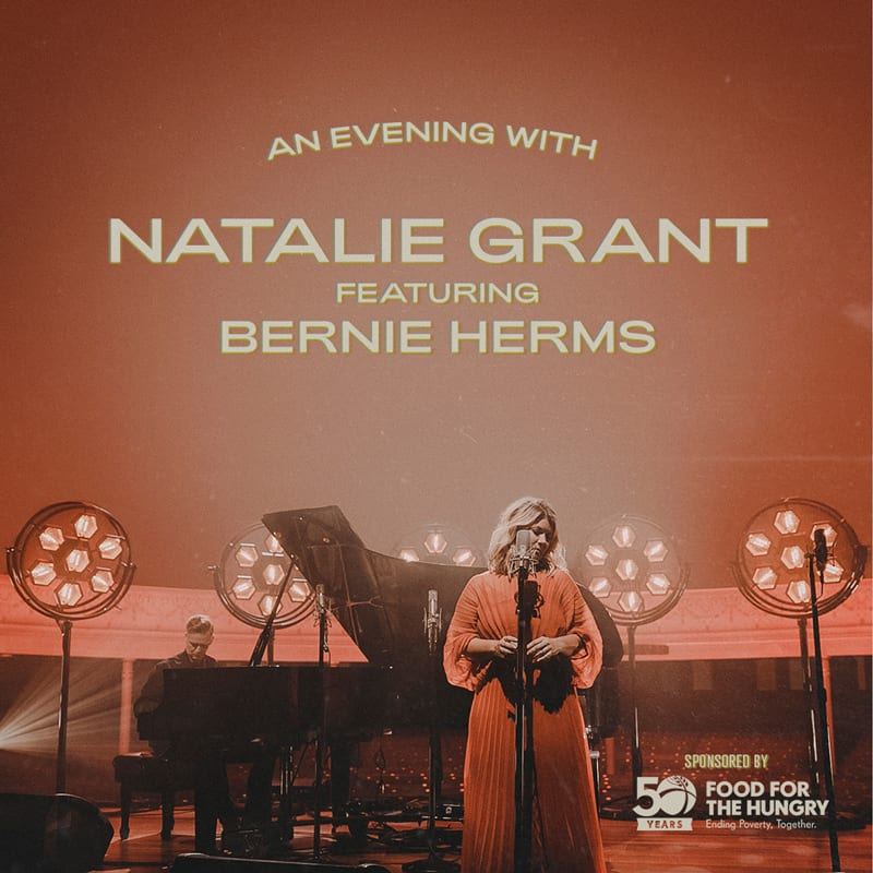 Natalie Grant featuring Bernie Herms in Concert at Parkway Fellowship