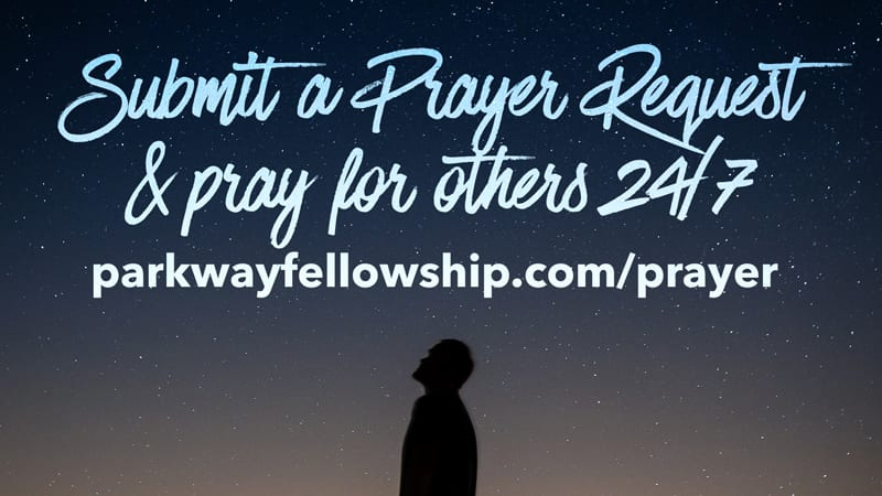 Submit at Prayer Request or Pray for Others