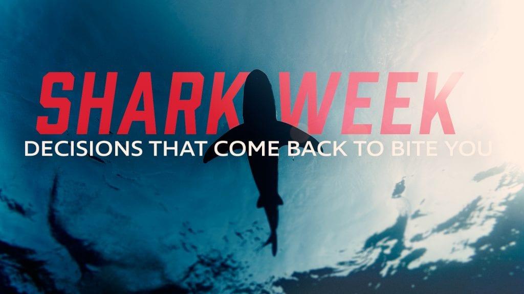 Shark Week Message Series Artwork