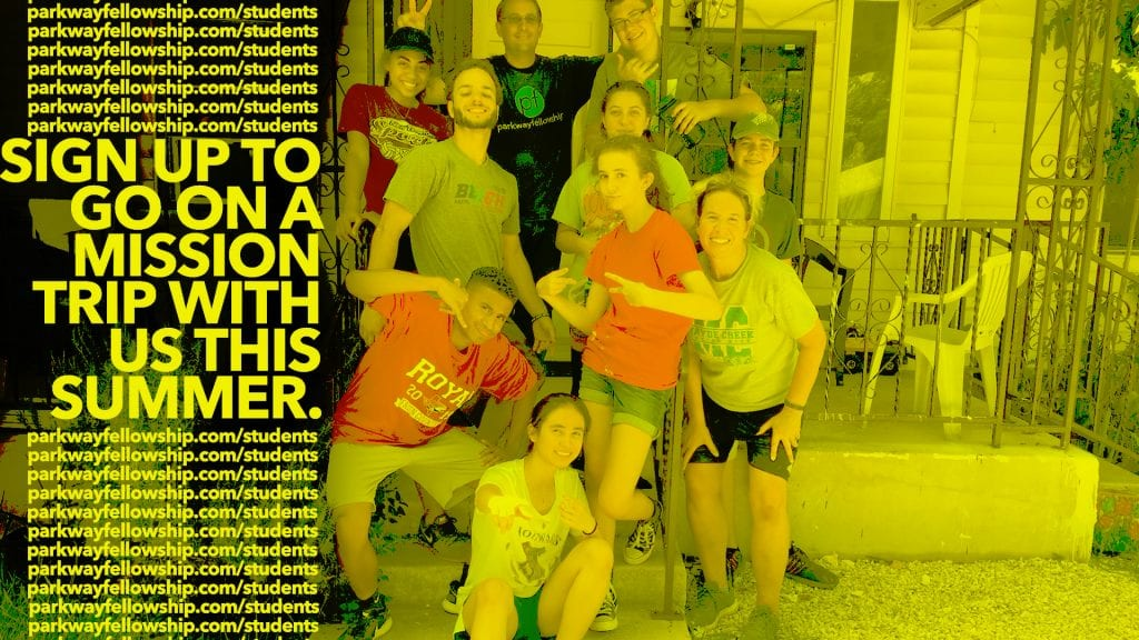 Parkway Student Missions Trip