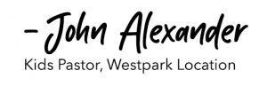 John Alexander Signature