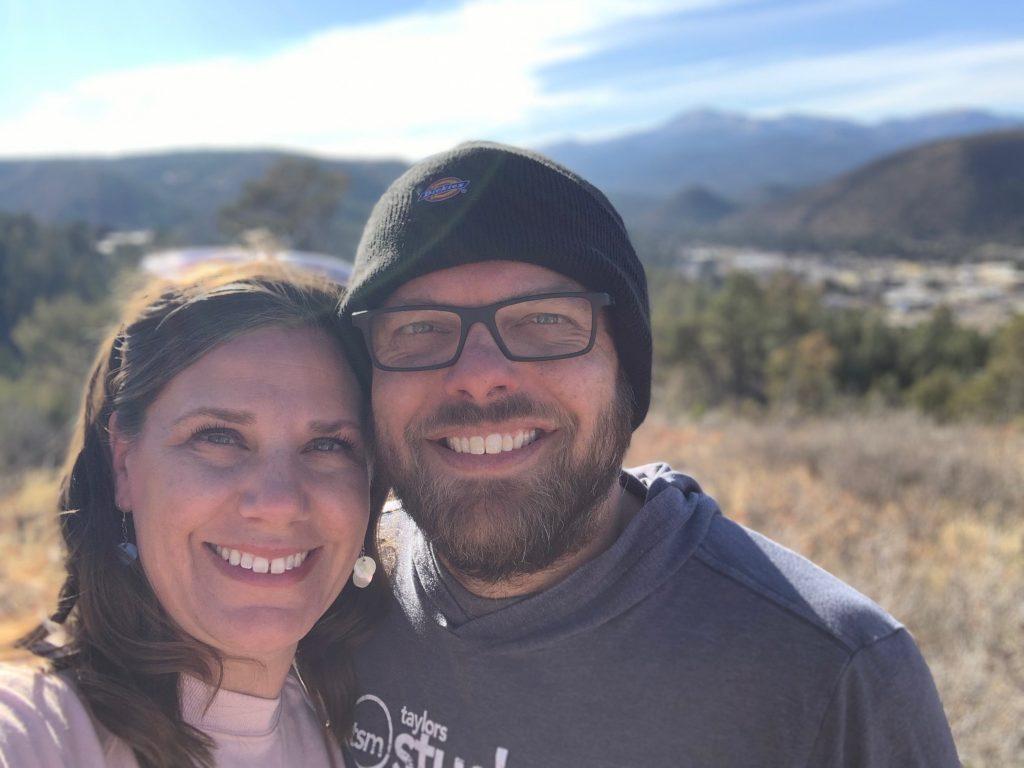 John and Kendra Alexander selfie