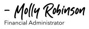 Molly Robinson Signature